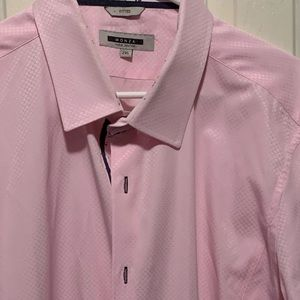 Monza 2XL Pink Dress Shirt
